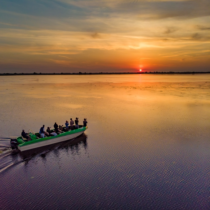 Danube Delta Guided Day Trip with OPEN boat - Private